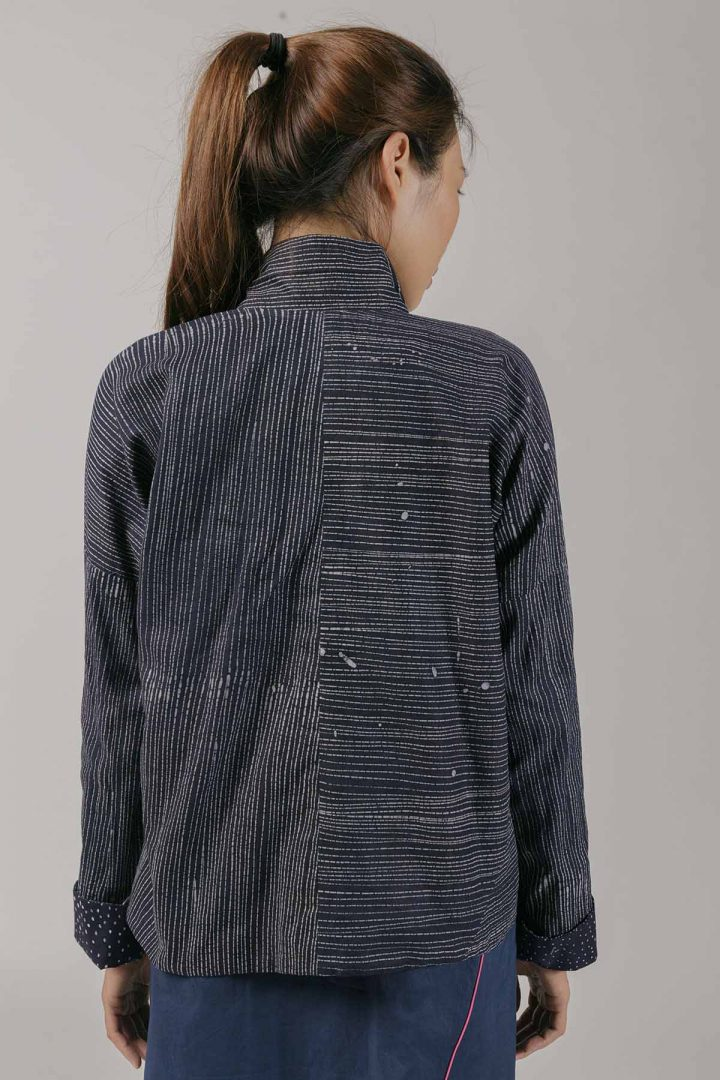 Reversible Soft Jacket by Kilomet 109 - Phieu Collection 2017