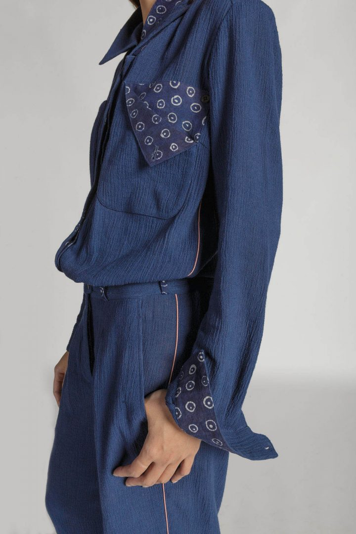 This is a Gauzy Jumpsuit by Kilomet 109 - Phieu Collection 2017