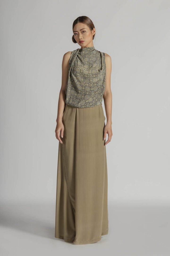 This is a Evening Dress by Kilomet 109 - Phieu Collection 2017