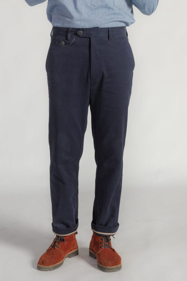 This is a Chinos Trousers by Kilomet 109 - Phieu Collection 2017