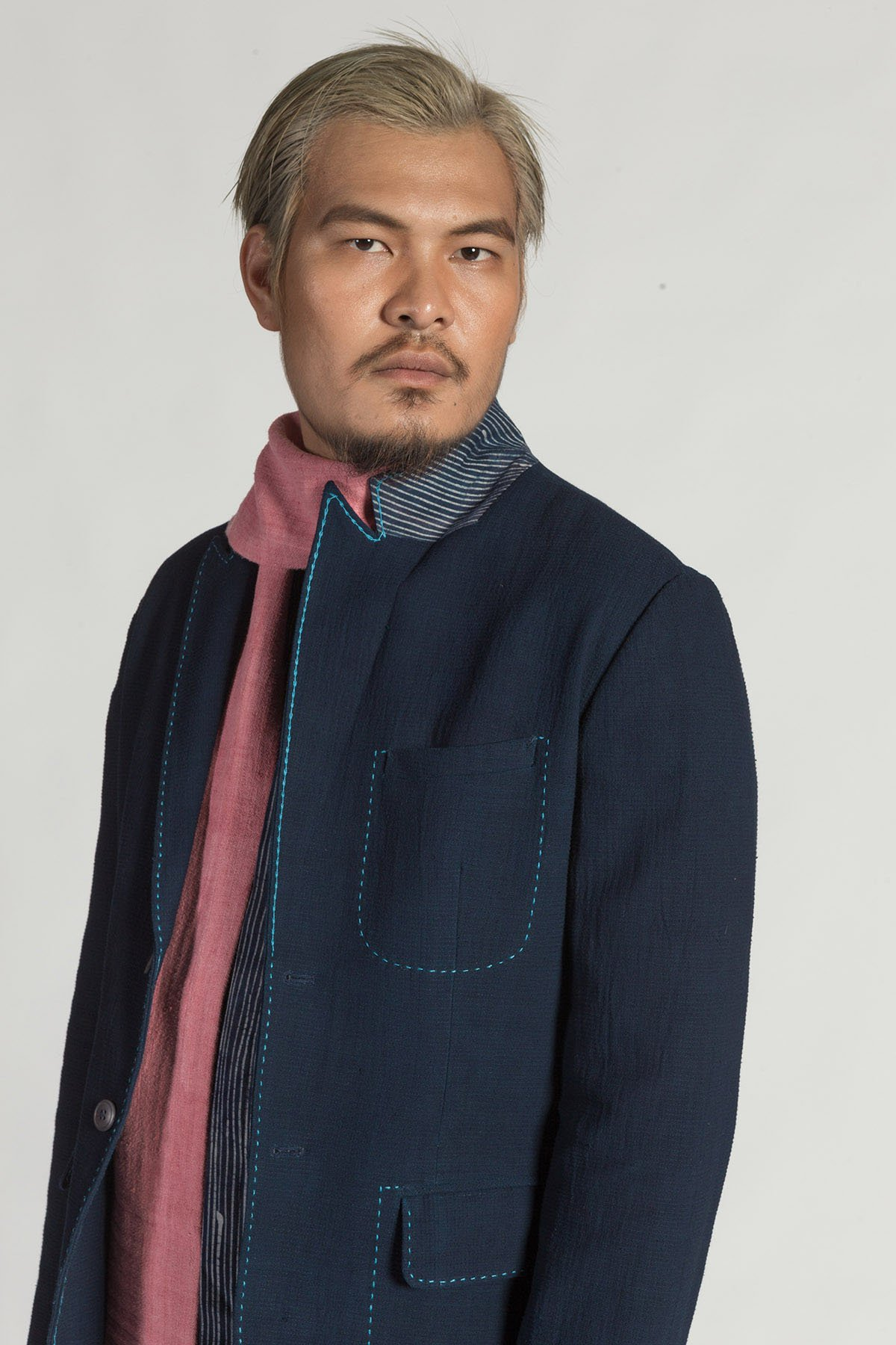 This is a Tailored Jacket by Kilomet 109 - Phieu Collection 2017