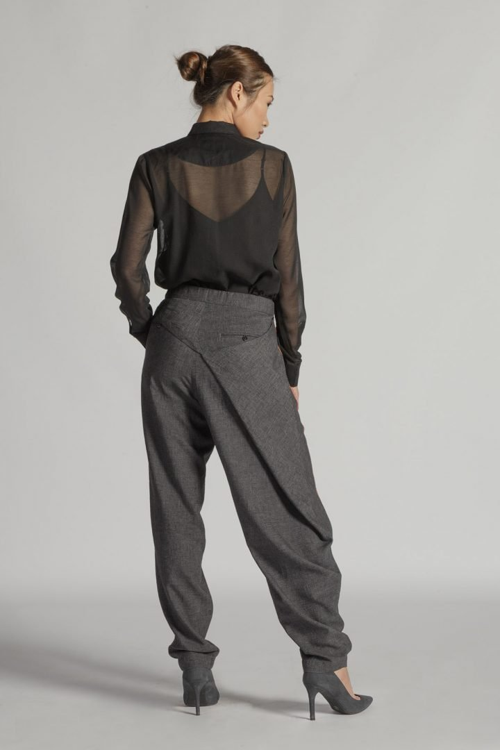 This is a Straight Legs Trousers by Kilomet 109 - Phieu Collection 2017