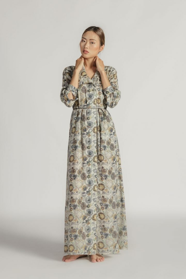 This is a Maxi Dress by Kilomet 109 - Phieu Collection 2017